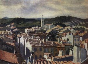 Zinaida Serebriakova - Cassis. The roofs of the city