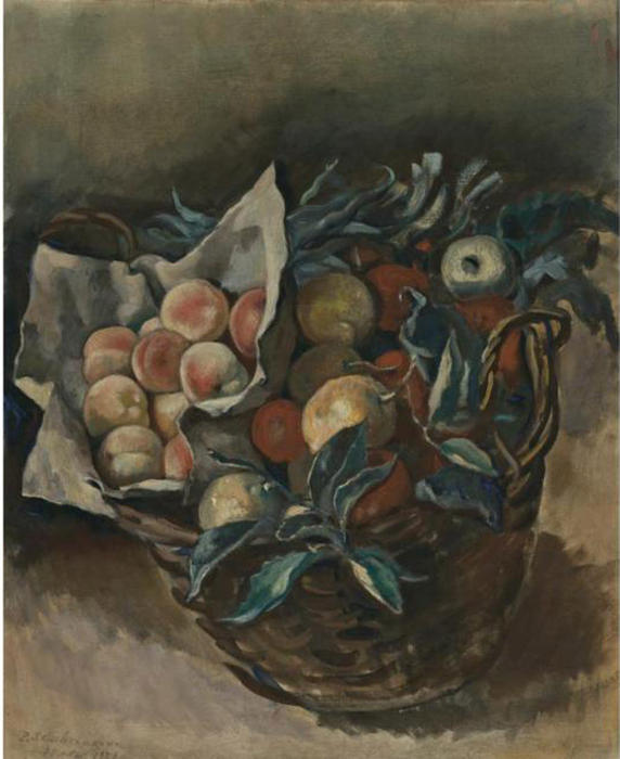 famous painting Fruit piece  of Zinaida Serebriakova