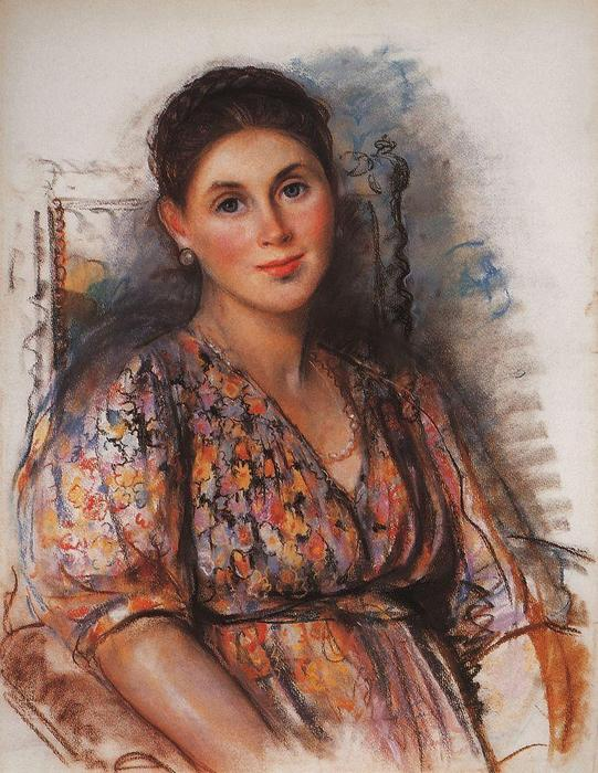 famous painting The Countess of Saint Hippolyte  of Zinaida Serebriakova