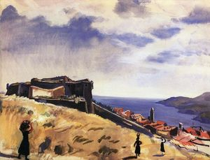 Zinaida Serebriakova - Collioure. Kind of fortress