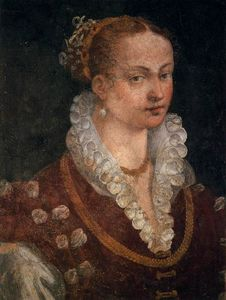 Alessandro Allori - Portrait of Bianca Cappello, Second Wife of Francesco I de' Medici