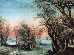 Denis Van Alsloot - Winter Landscape