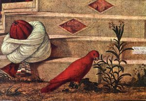 Vittore Carpaccio - Baptism of the Selenites (detail)