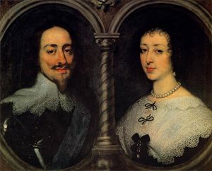 Anthony Van Dyck - Charles I of England and Henrietta of France