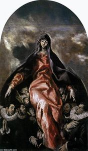 El Greco (Doménikos Theotokopoulos) - The Madonna of Charity