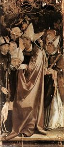 Matthias Grünewald - Fourteen Saints Altarpiece (detail)