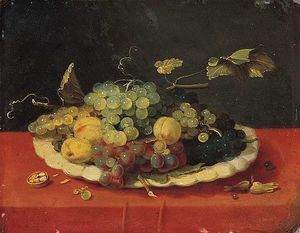 Jan Van Kessel - Still-Life with Fruit