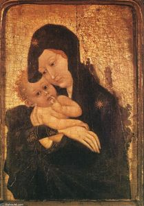 Jean Malouel - Virgin and Child