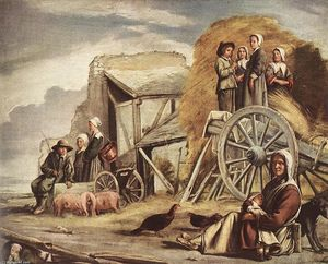 Antoine (Brother) Le Nain - The Cart or Return from Haymaking
