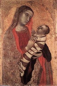 Ambrogio Lorenzetti - Madonna and Child