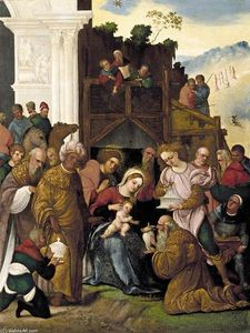 Ludovico Mazzolino - Adoration of the Magi