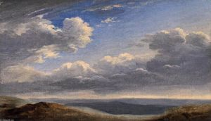 Pierre Henri De Valenciennes - Study of Clouds over the Roman Campagna