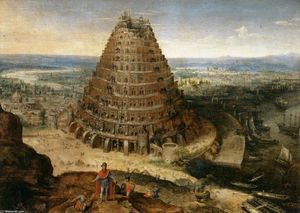Lucas Van Valkenborch - The Tower of Babel