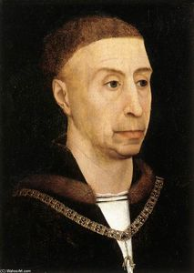 Rogier Van Der Weyden - Portrait of Philip the Good