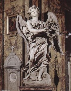 Gian Lorenzo Bernini - Angel with the Crown of Thorns