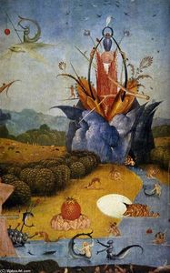 Hieronymus Bosch - Triptych of Garden of Earthly Delights (detail) (23)