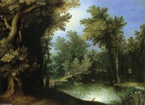 Paul Bril - Landscape with a Marsh