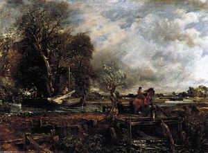 John Constable - The Leaping Horse