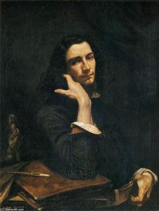 Gustave Courbet - Self-Portrait (Man with Leather Belt)