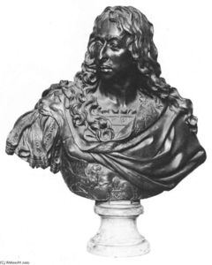 Antoine Coysevox - Bust of the Grand Condé