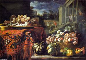 Pier Francesco Cittadini - Still-Life with Fruit and Sweets