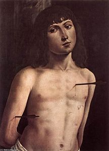 Lorenzo Costa (The Elder) - St Sebastian