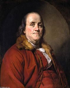 Joseph Siffred Duplessis - Portrait of Benjamin Franklin