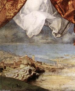 Albrecht Durer - The Adoration of the Trinity (detail) (11)
