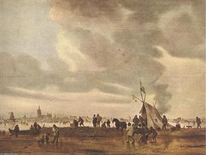 Jan Van Goyen - View of The Hague in Winter