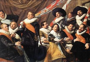 Frans Hals - Banquet of the Officers of the St George Civic Guard Company