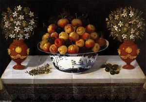 Tomàs Yepes - Still-Life with Fruit and Flowers