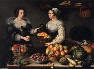 Louise Moillon - The Fruit and Vegetable Costermonger