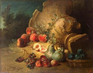 Jean-Baptiste Oudry - Still-Life with Fruit