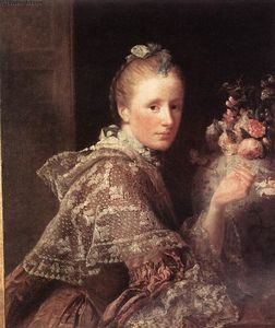 Allan Ramsay - Portrait of the Artist's Wife