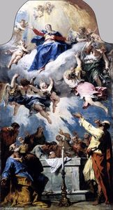 Sebastiano Ricci - The Assumption