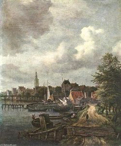 Jacob Isaakszoon Van Ruisdael (Ruysdael) - View of Amsterdam