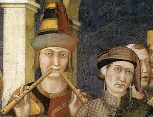 Simone Martini - St. Martin is Knighted (detail) (8)