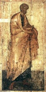 Theophanes The Greek - Icon from the Deësis Tier (8)