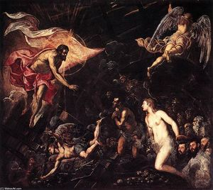 Tintoretto (Jacopo Comin) - The Descent into Hell