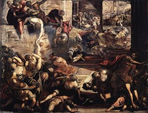 Tintoretto (Jacopo Comin) - The Massacre of the Innocents