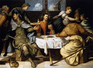Tintoretto (Jacopo Comin) - The Supper at Emmaus