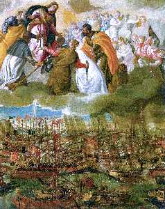 Paolo Veronese - Battle of Lepanto