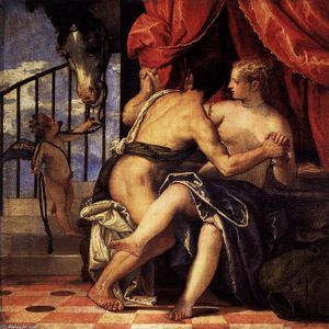 Paolo Veronese - Venus and Mars with Cupid and a Horse