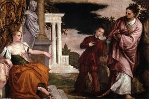 Paolo Veronese - Youth between Virtue and Vice