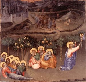 Giovanni Di Paolo - Christ in the Garden of Gethsemane