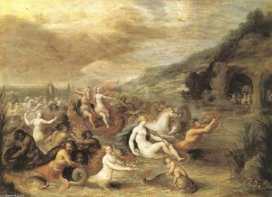 Frans Francken The Younger - Triumph of Amphitrite