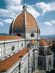 Filippo Brunelleschi - Dome of the Cathedral