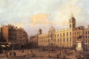 Giovanni Antonio Canal (Canaletto) - London: Northumberland House
