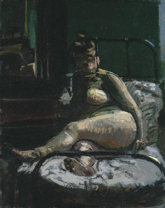 famous painting La Hollandaise of Walter Richard Sickert