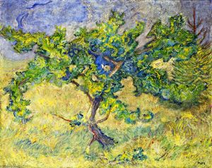 Franz Marc - Little Oak Tree